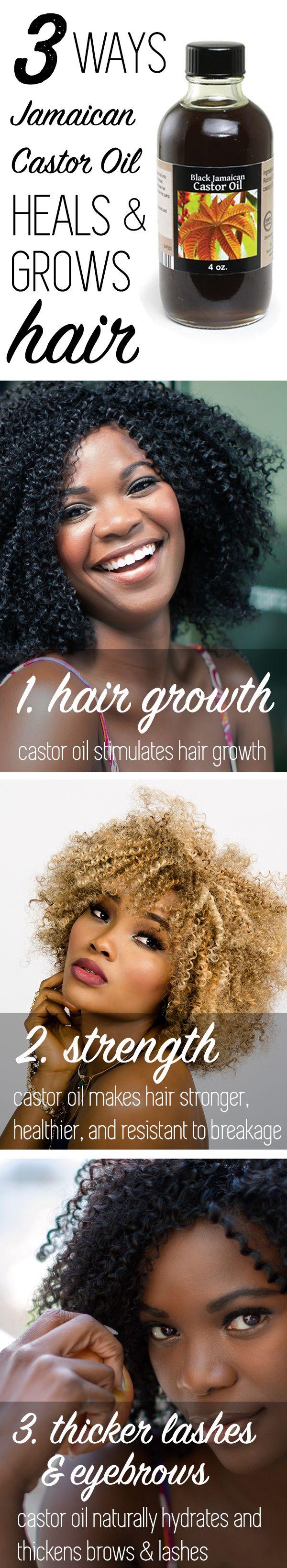 Black Jamaican Castor Oil (Organic) 4 oz   Jamaican castor oil