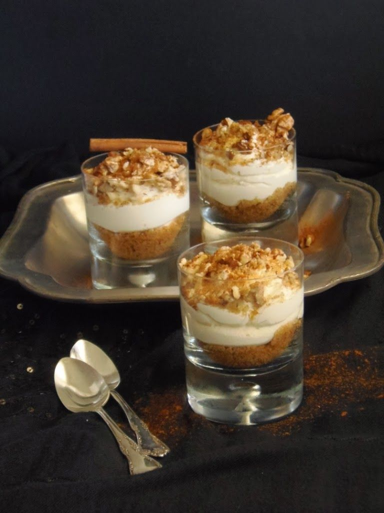 Food for thought: Cheesecake μελομακάρονο