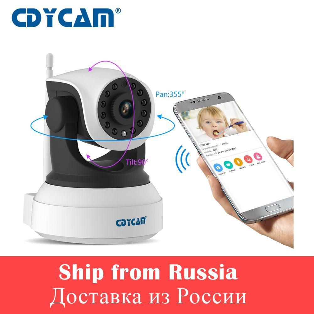CDYCAM Mini IP Camera 720P Baby Monitor Night Vision CCTV