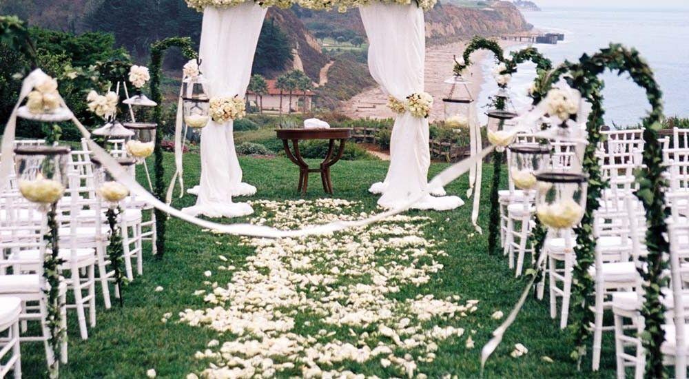 Santa Barbara Beach View Bacara Resort Spa Wedding Venues