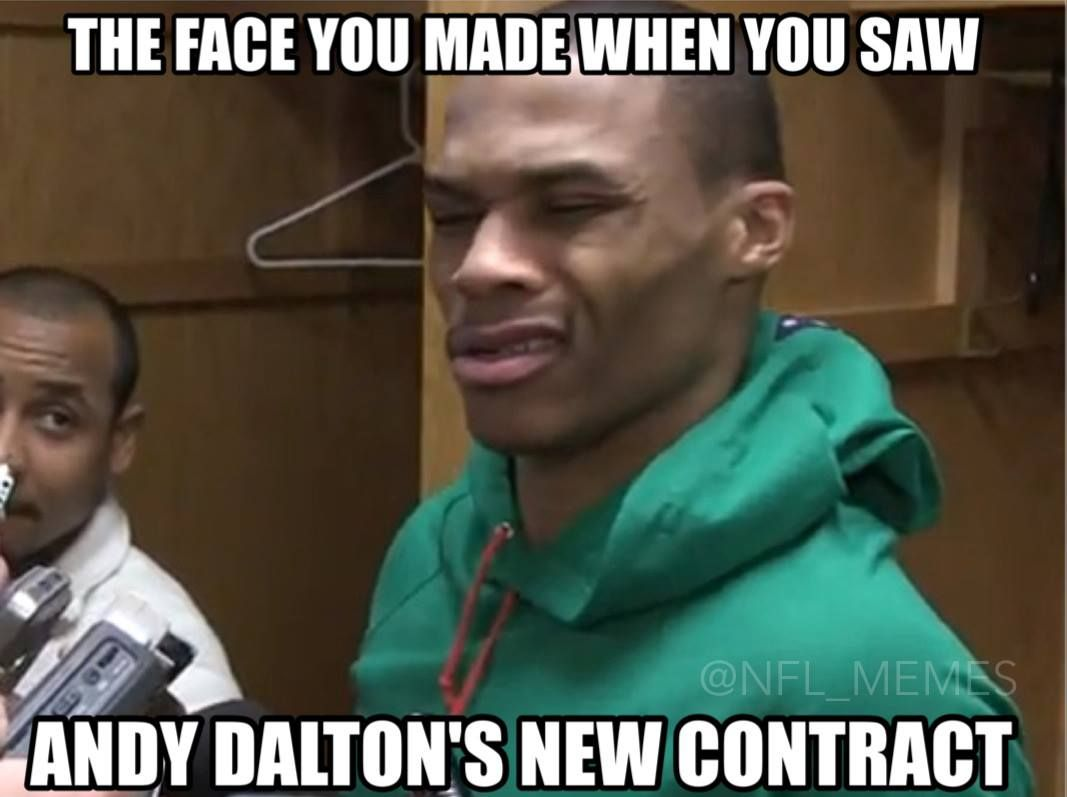 Andy Dalton Sucks Meme