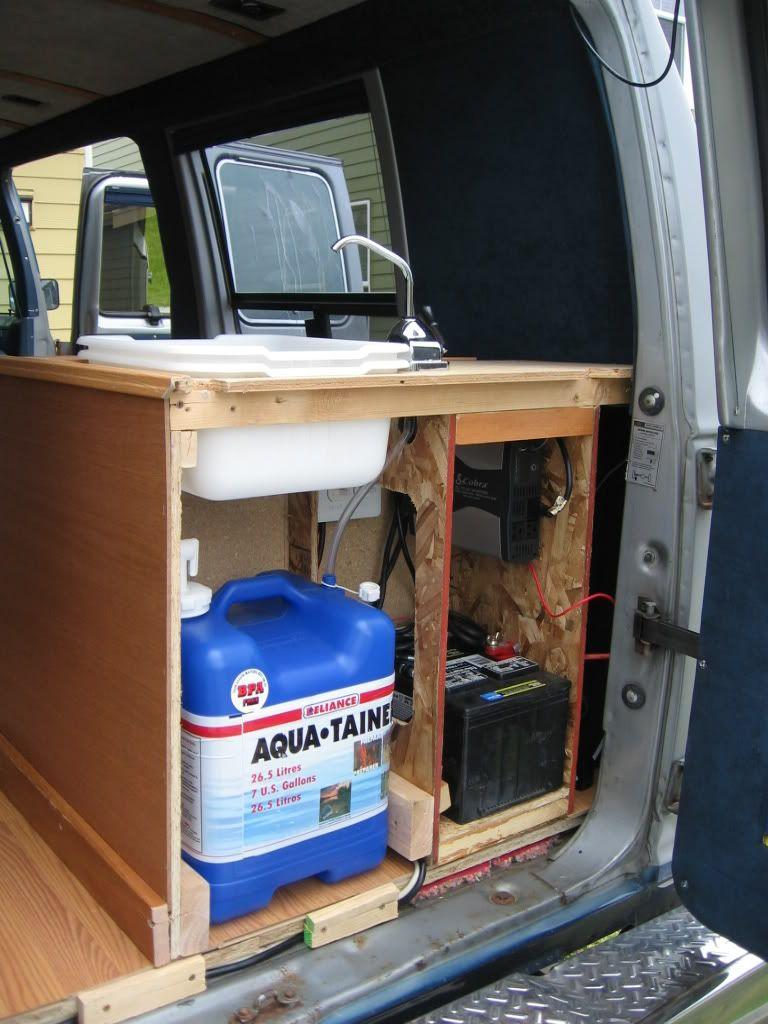DIY Project E350 Camper Vans