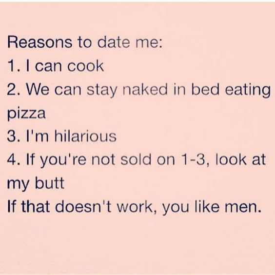 Funny dating quotes for men