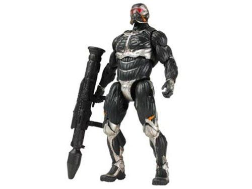 "Crysis 2 Nanosuit 2 Action Figure 3.75/"" old lost color"