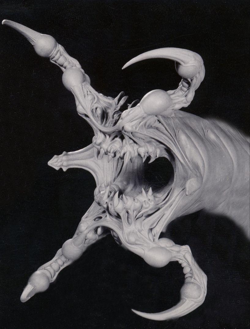 Tentacle Head Sculptures, By Rob Bottin, James Kagel, Moto Hata, And Damon  Bard.
