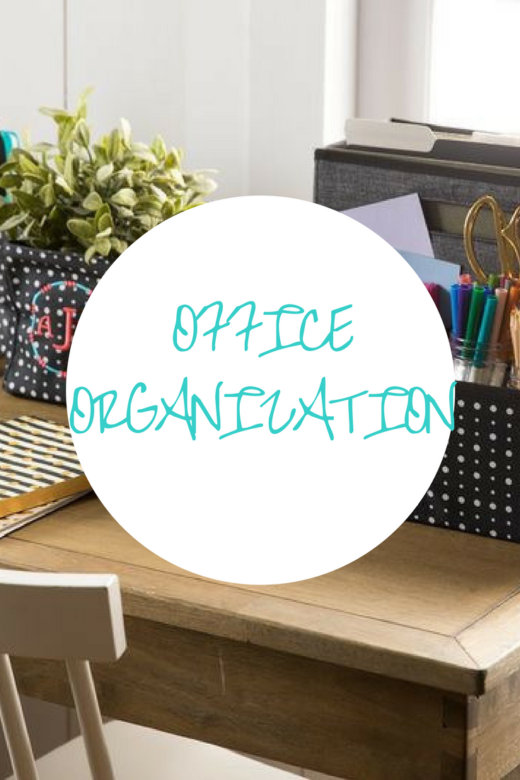 This board gives you ideas to organize your office wether at home or ...