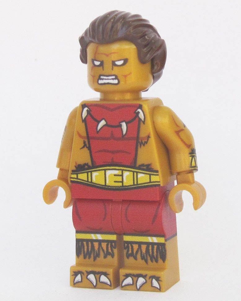 ⎡LEYILE BRICK⎦Custom Lego Minifigure Head Pieces Style 18 Set Of 6