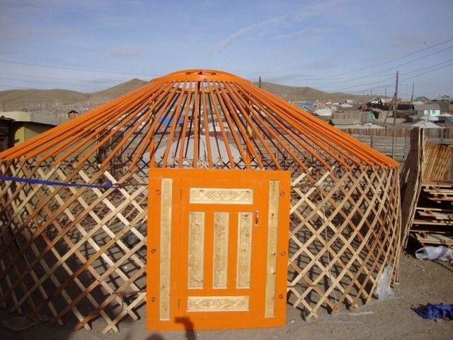 mongolische Khan Jurte (Ger) zu verkaufen! (sofort verfügbar) Jurten jurt yurt yourte Nomadenzelt Jurte Mongolei mongolische Jurten Ger