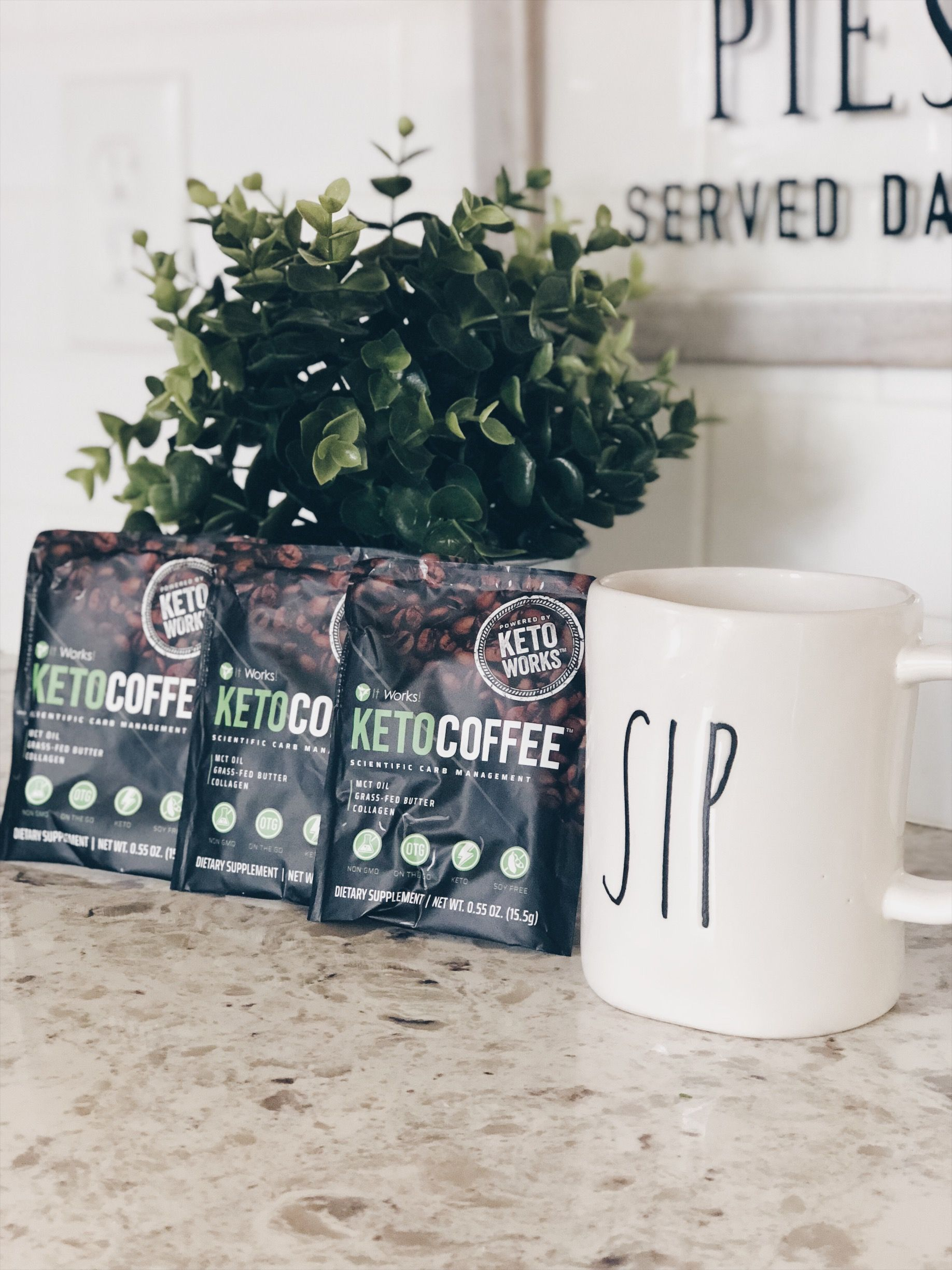 No one else has this NEW KETO Coffee!! So easy and mess free  On the