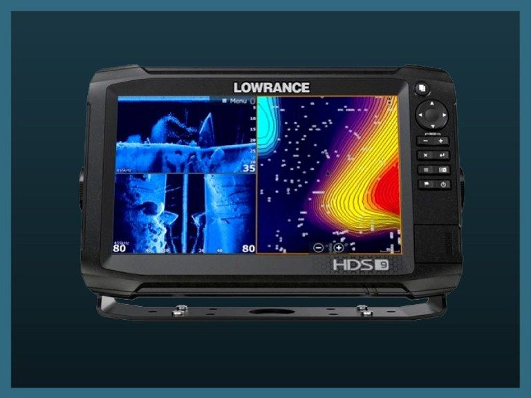 how to read a fish finder lowrance