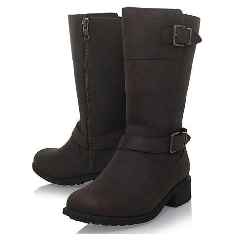 Buy UGG Tisdale Knee High Boots, Dark Brown Online at johnlewis.com