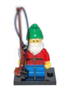 NEW LEGO MINIFIGURES SERIES 4 8804 Lawn Gnome