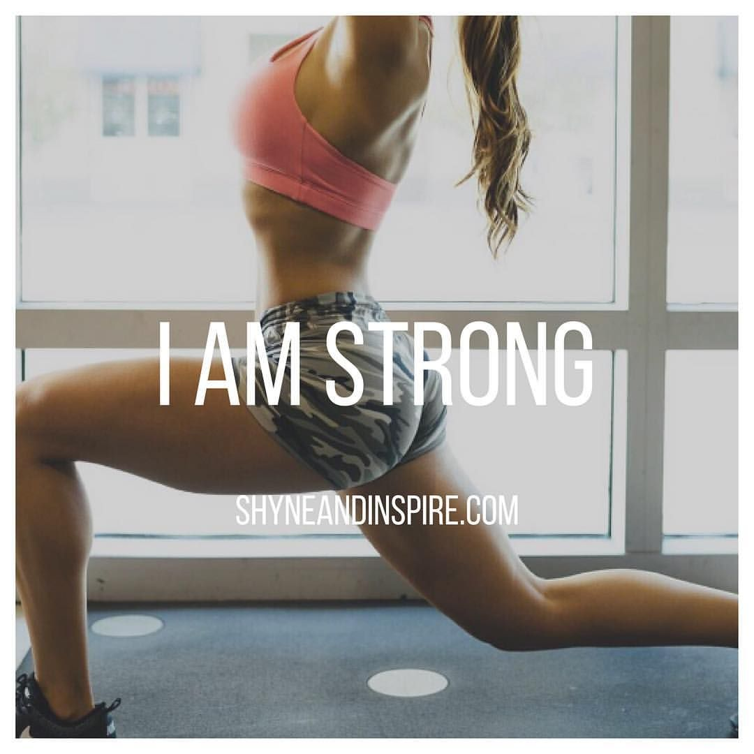 I am powerful. Nothing and no one is going to stop me. Fitness | Clean Eating | Beauty | Fashion | Inspiration @ shyneandinspire.com