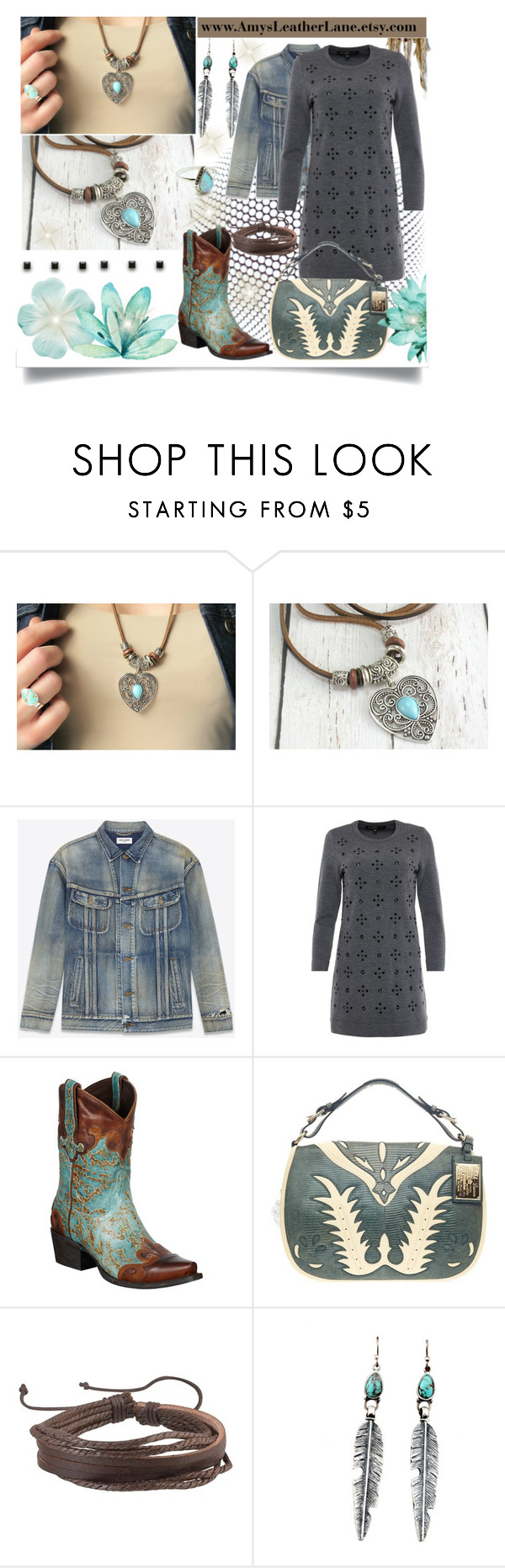"""""""Amy's Leather Lane Necklace"""" by jeneric2015 ❤ liked on Polyvore featuring Marc by Marc Jacobs, Ralph Lauren, Zodaca, Child Of Wild, women's clothing, women, female, woman, misses and juniors"""