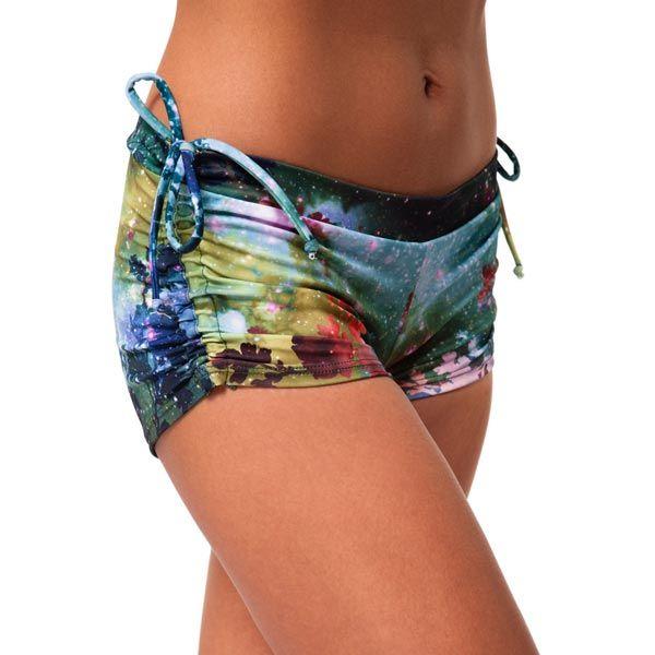Onzie Side Tie Short Yoga Clothes Hot Yoga Outfit Bikram Yoga Clothes