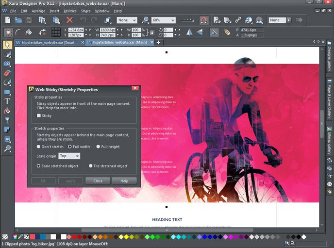 Xara Designer Pro X11 offers digital, print and web design in one ...