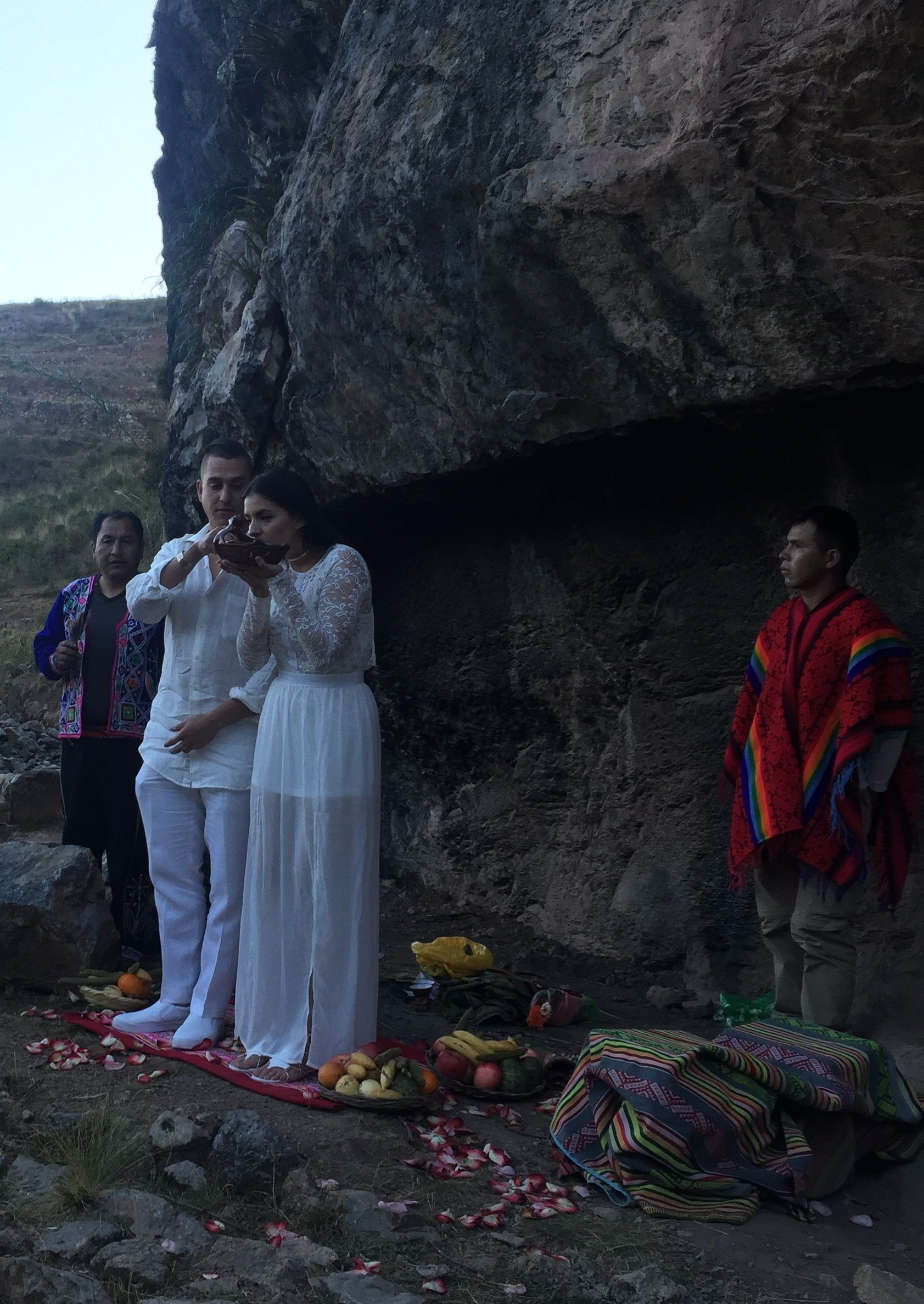Locally Made Chicha Beer Is Part Of Every Adventure Wedding Ceremony On The Way To Machu