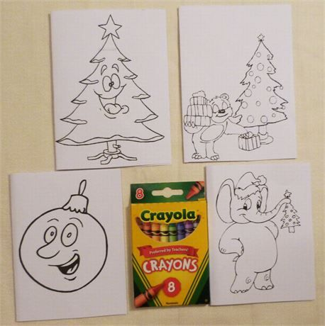 childs color me cards set of 4 christmas cards usa made if you