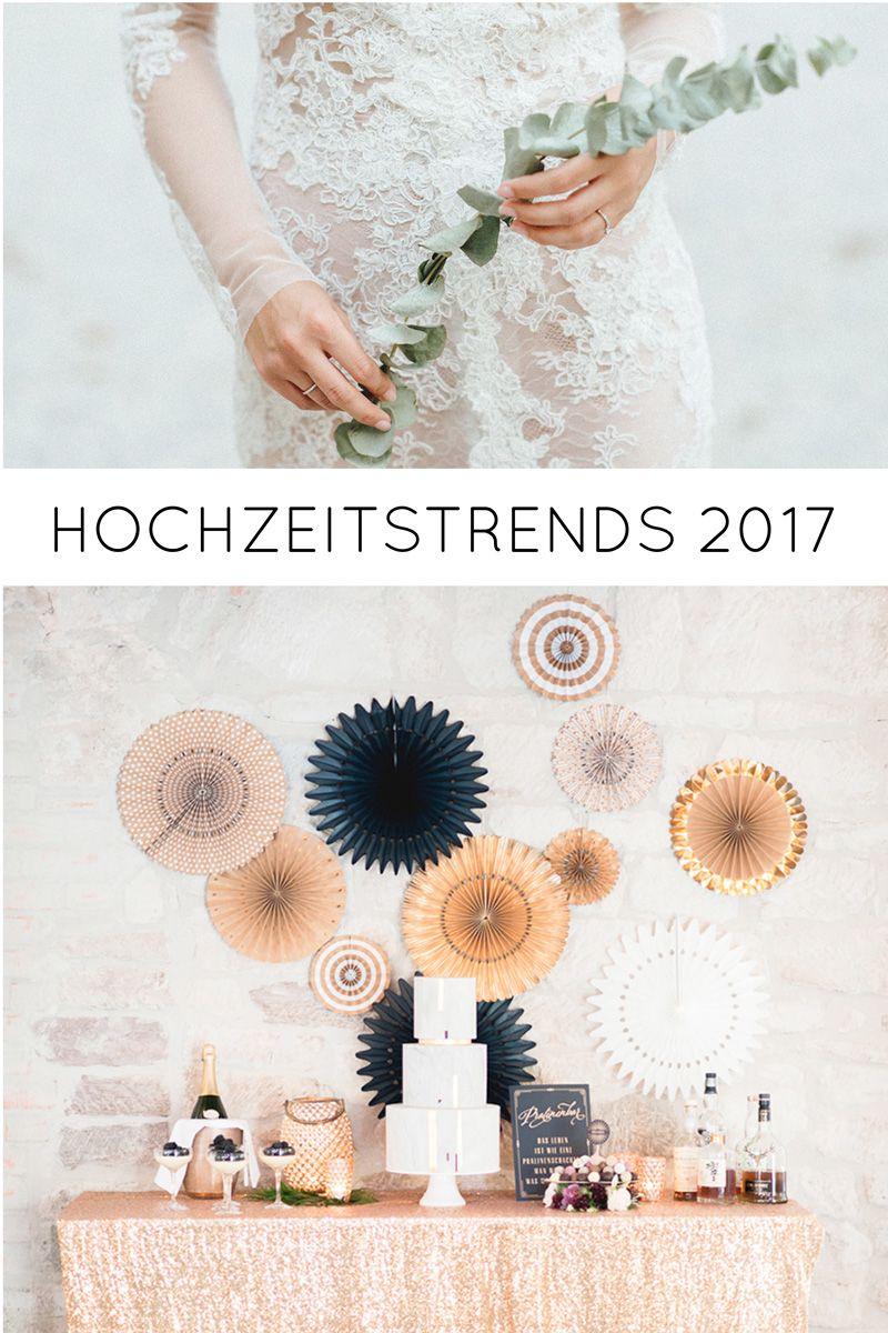 Hochzeitstrends 2017 FlitterBOOK Hochzeit 2017