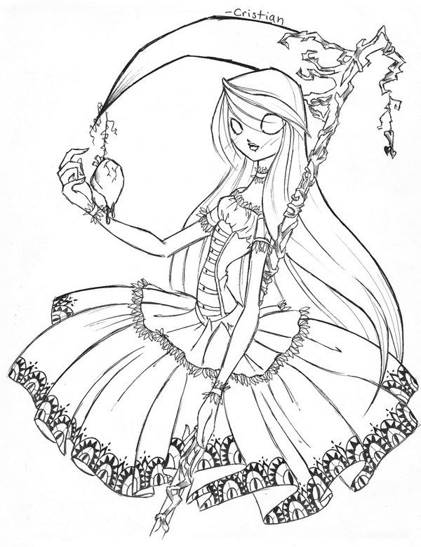 This is Alice Skellington. The daughter of Jack and Sally from the ...
