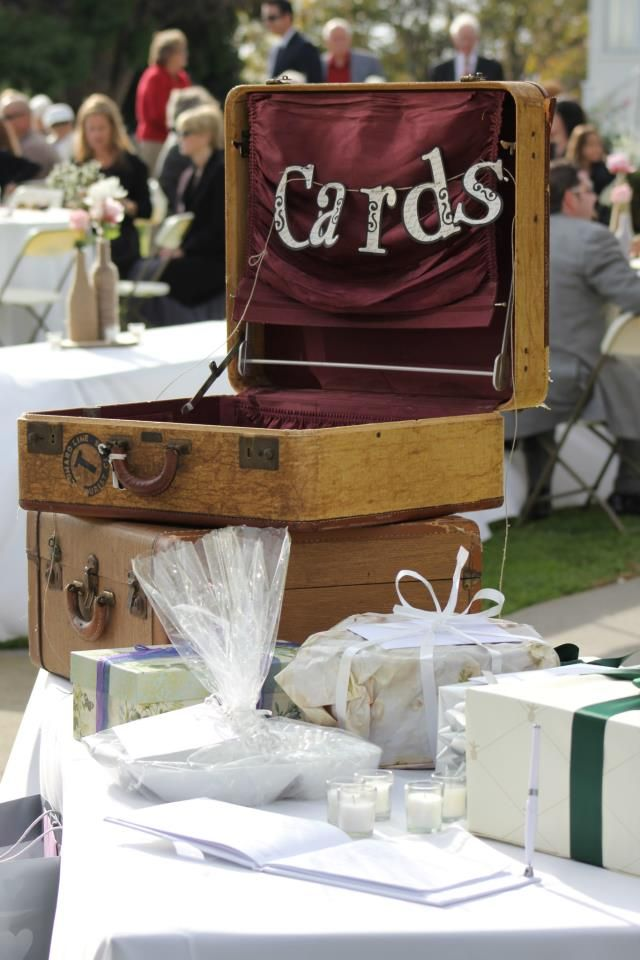 Gift Table Newland Barn Wedding Huntington Beach Dj Sota