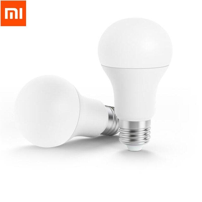 Xiaomi Mi Original Bombilla Led Inteligente Y Control Remoto Con Wifi Brillo Ajustable Color Blanco En 2020 Bombillas Bombillas Led Led