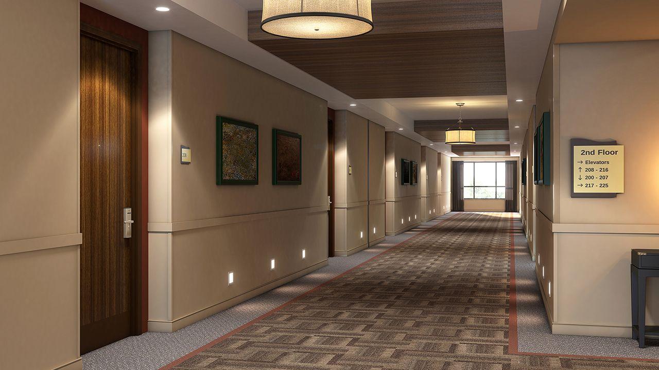 Hotel Corridor | SignScape Architectural Signage ...