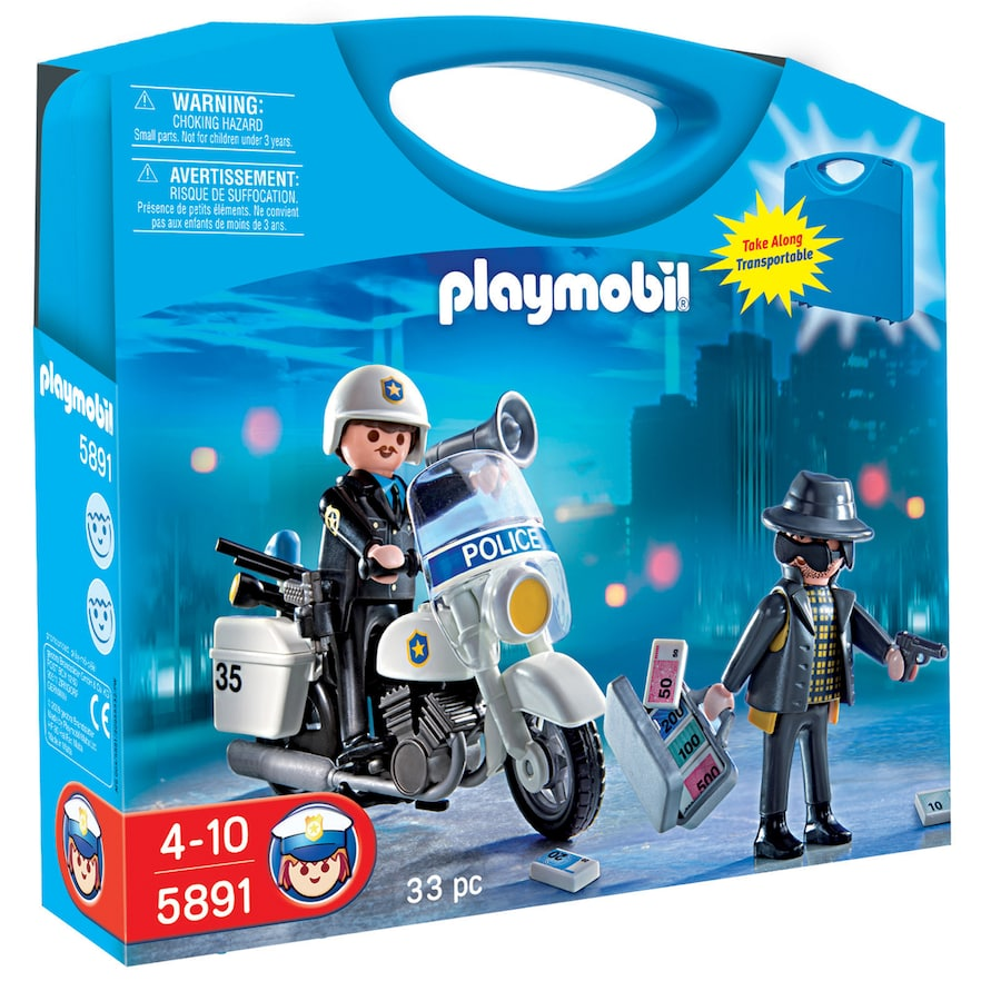 Playmobil Police Play Set 5891 Playmobil Juguetes De Playmobil Policía