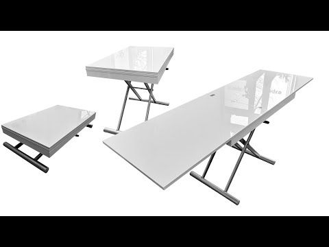 Alzare Long Coffee Transforming Long Narrow Dinner Table Expand Furniture Folding Tables Smarter Wall Long Coffee Tables Expand Furniture Coffee Table