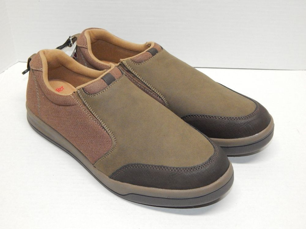 Wrangler Men's Casual Shoe Brown Suede Slip On Memory Foam