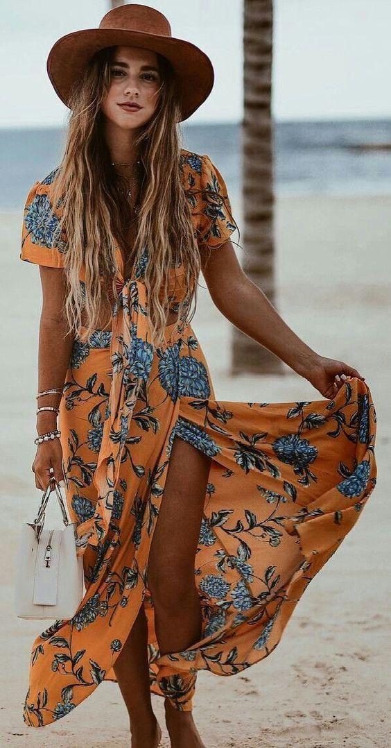Maravillosas ideas de atuendos festivos para mujeres de moda de verano