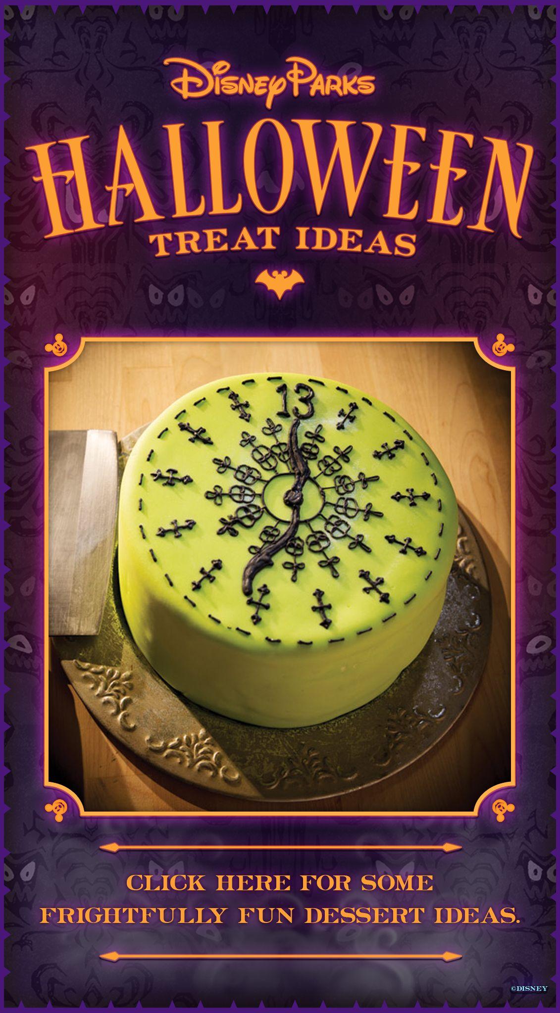 Haunted Mansion 13 o'clock cake. So awesome!!