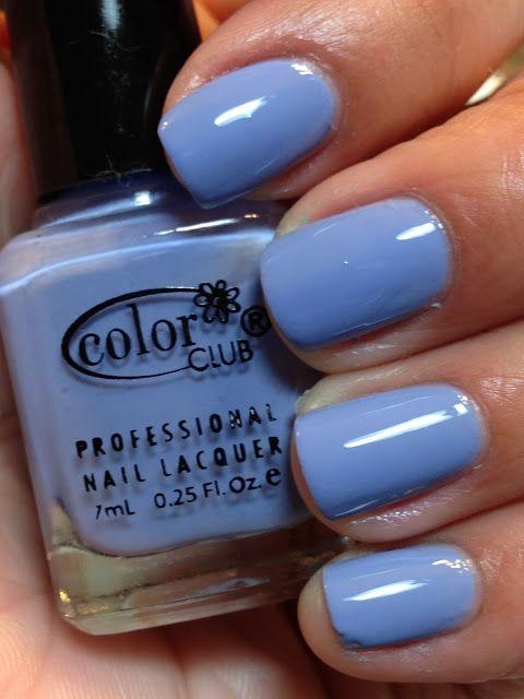 Color Club Hydrangea Kiss   Nails   Pinterest   Color club, Nails ...