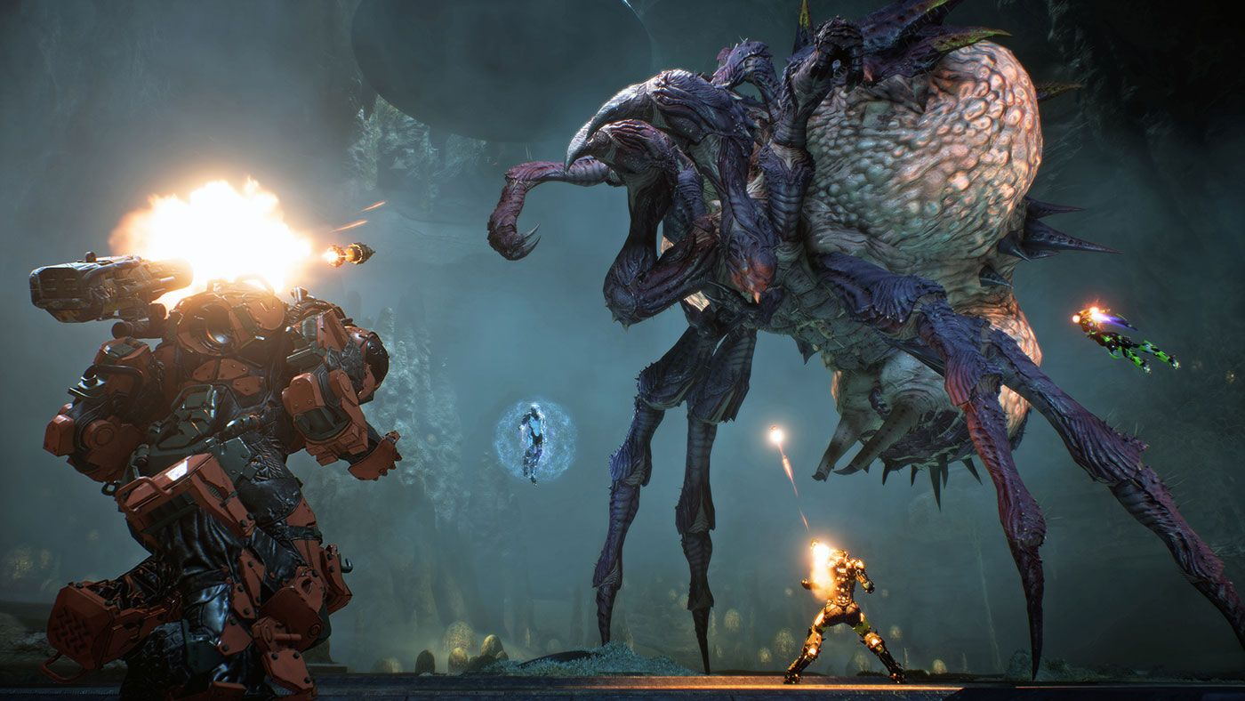 Anthem Telling A Story In A Multiplayer Game Is A Hard
