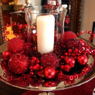Pin By Crystal Gurley On Christmas Decor Ideas Holiday Centerpieces Christmas Table Decorations Christmas Centerpieces