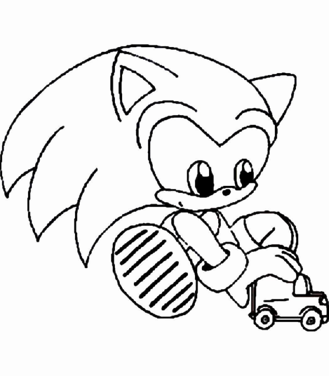 32 Sonic The Hedgehog Coloring Book In 2020 Coloring Pages