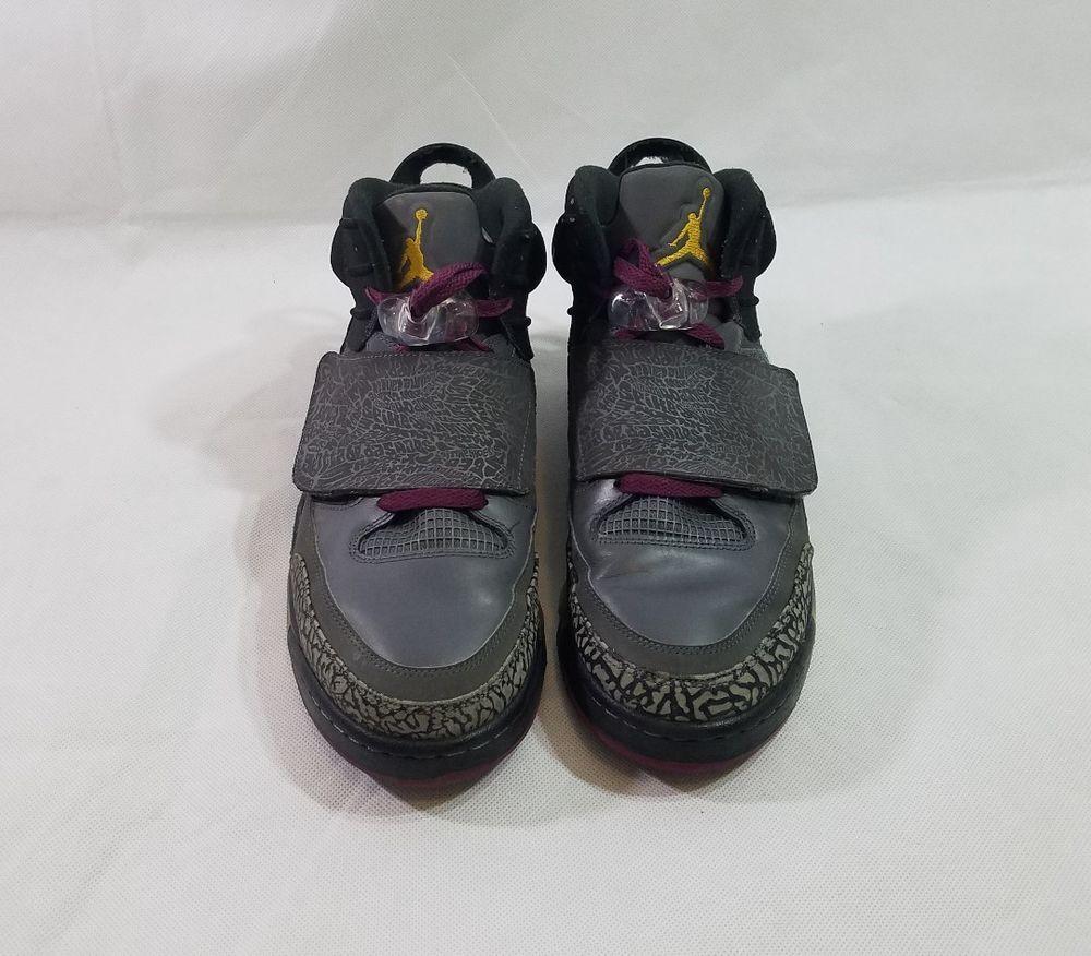 premium selection 86356 956ca Air Jordan Son Of Mars Size 11.5 Mens Bordeaux Dark Grey Gold 512245 038  Retro