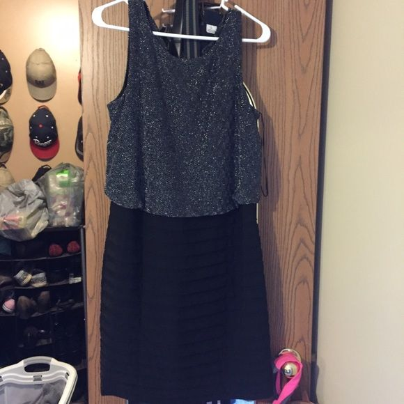 Dress Cute party dress sparkly black Dresses Midi