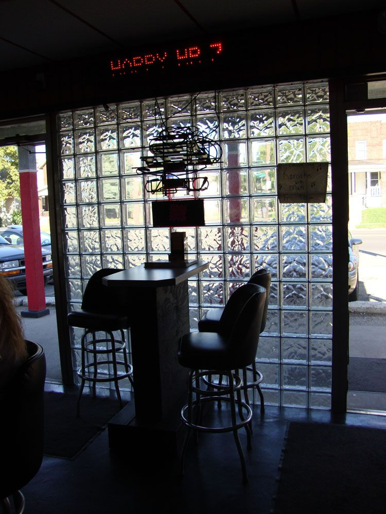 Glass Block Store Front In Columbus OH Inside View Commercial - Cost to add window in bathroom