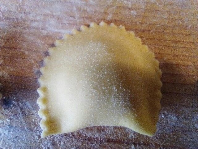 Raviolo,ricetta del carnevale marchigiano