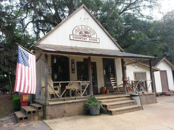 Welcome to Bradley's Country Store, located about 12 miles north of Tallahassee, in a small community called Felkel. Some big chains have tried to copy the small-town general store vibe, but this is the real deal.