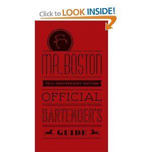 Mr. Boston official bartenders guide