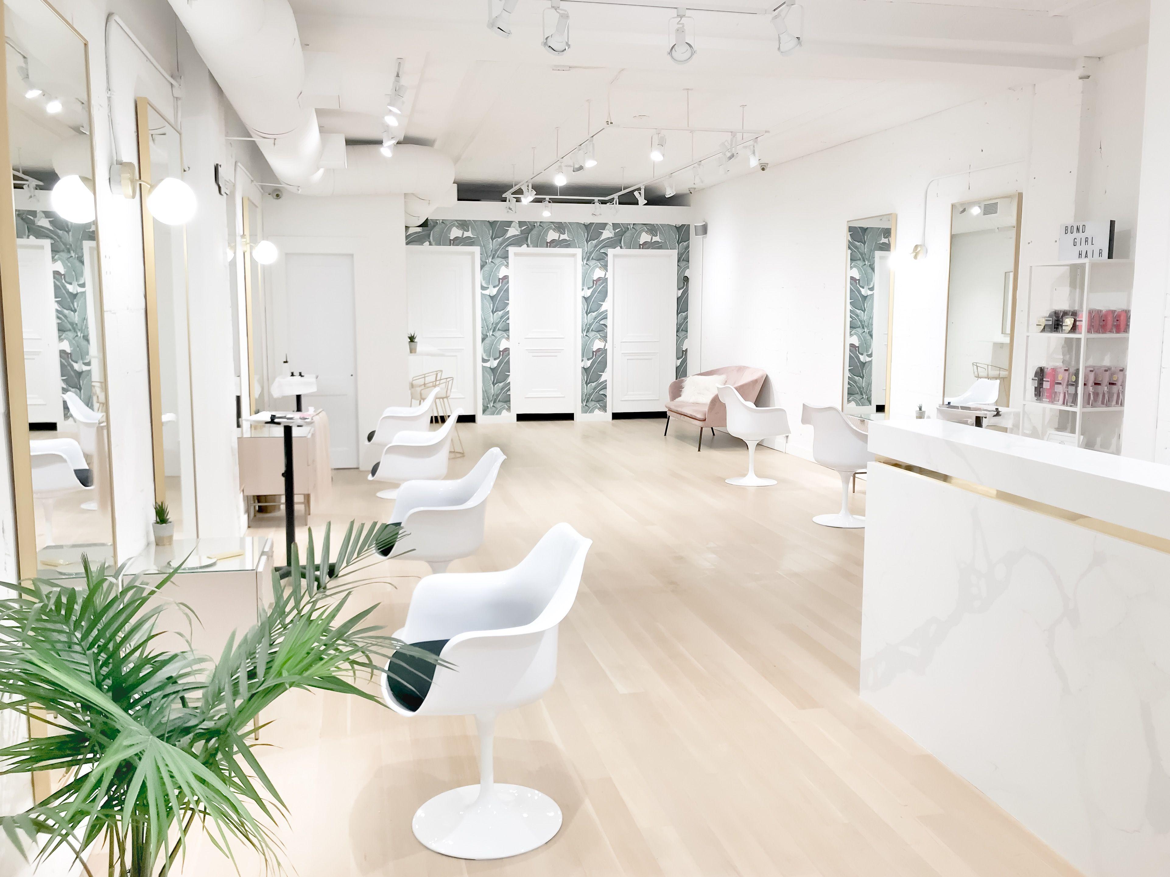 Hair salon design  Formal living room decor, Salon interior