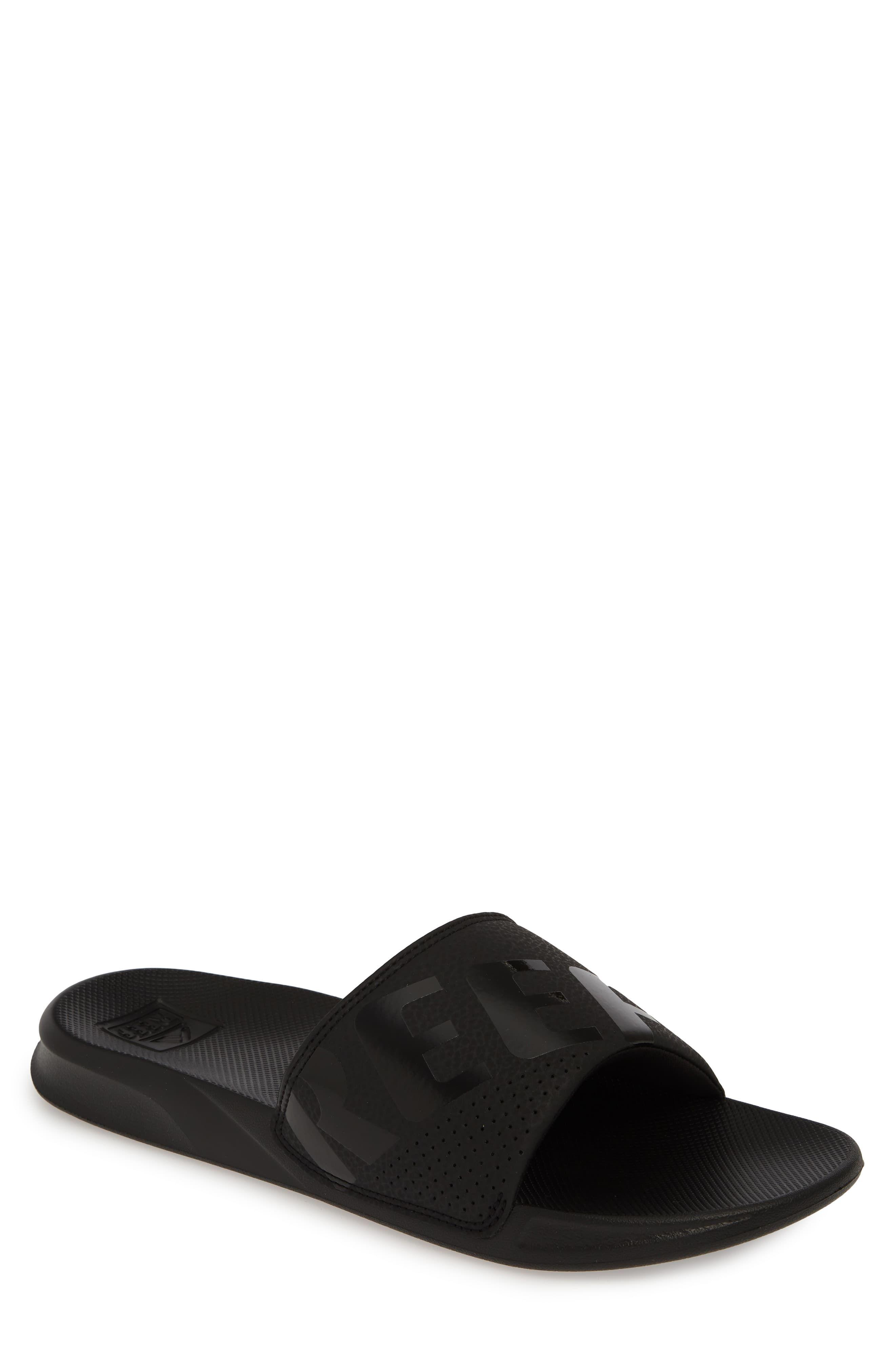 da3fc97de1c1e Reef One Slide Sandal in 2019 | Products | Slide sandals, Sandals ...