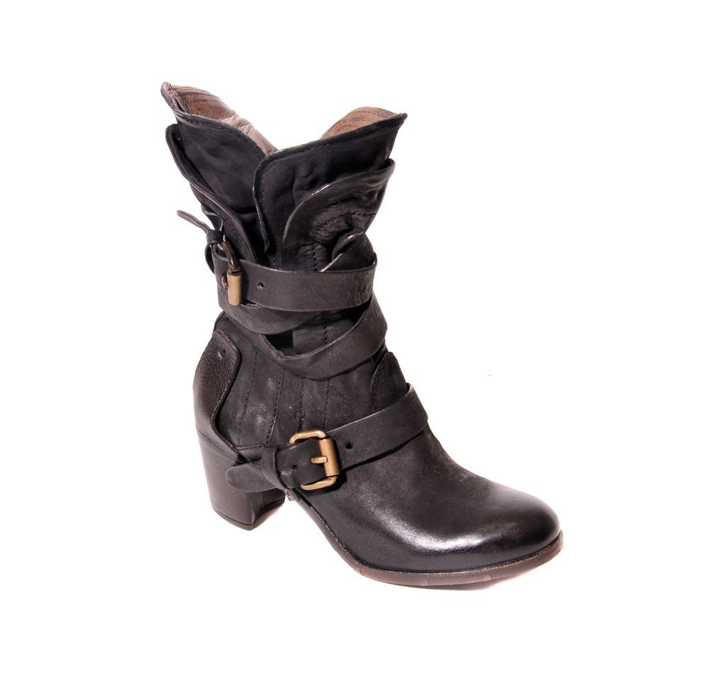 Ankle Nero 00On AS 98 741304 Boot445 Nero NEW Women's bfyIgv6Y7