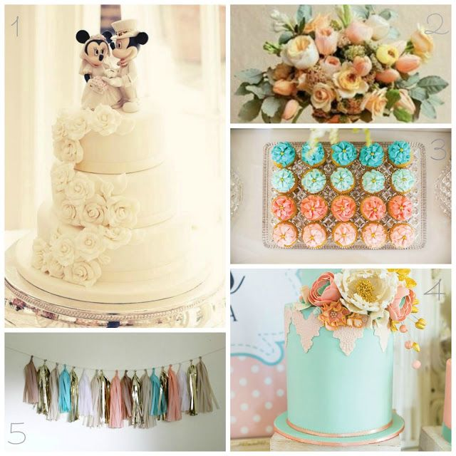 In Flight: A Peach Palette Mickey and Minnie Inspiration Disney Wedding