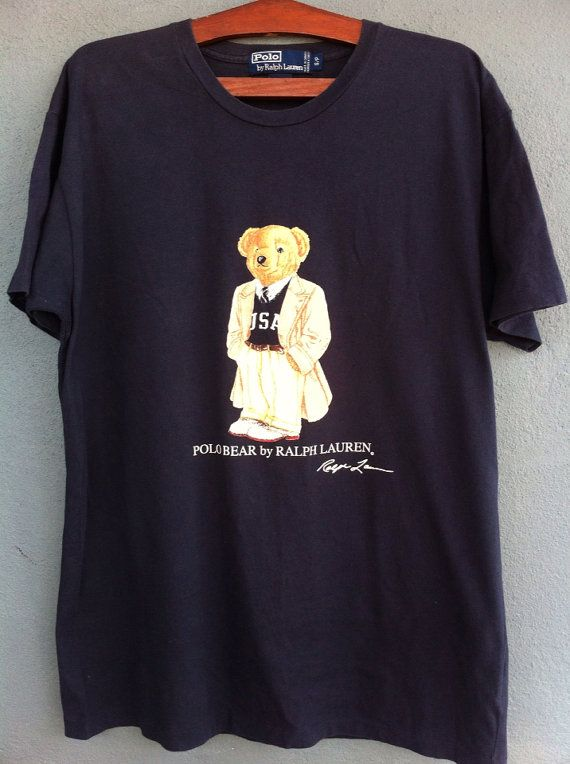 965e339cc Vintage Polo Ralph Lauren Polo Bear 80s T-Shirt | Nice!! love it ...