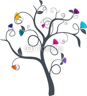 Dessins d 39 arbres sur pinterest dessins de ch ne et - Dessin de arbre ...