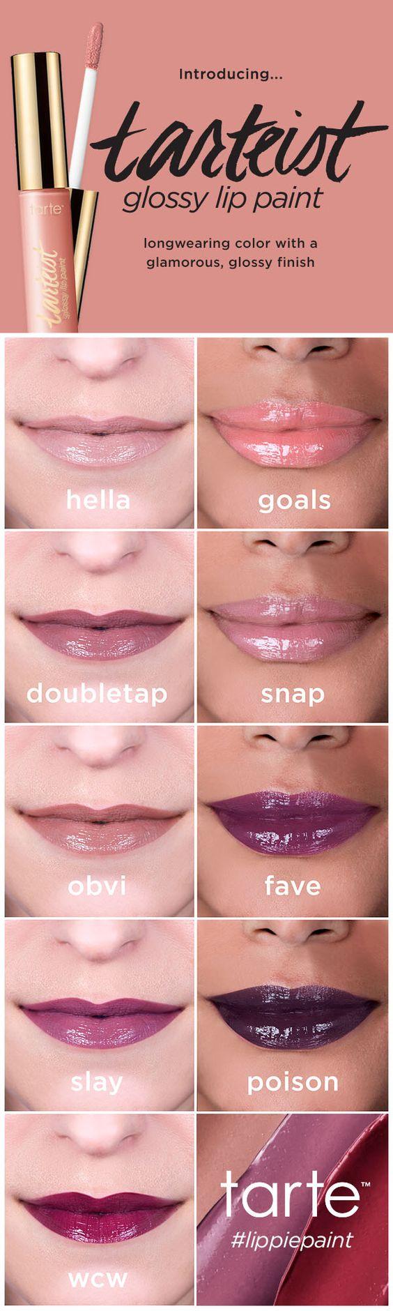 Pretty Glossy Lips Makeup