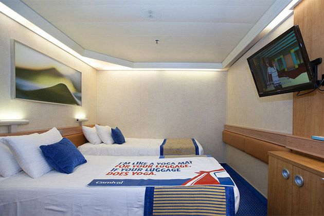 Interior cabin on carnival sunshine photo cruise critic for Royal caribbean solo cabins